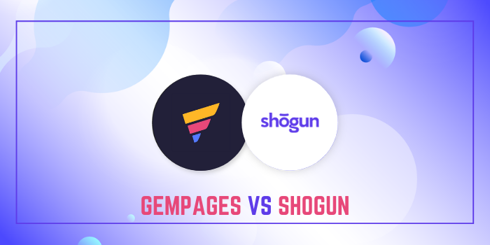 GemPages Vs Shogun - Which Is Better?