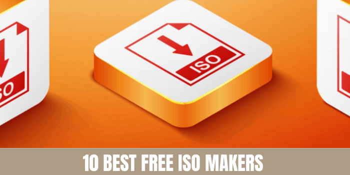 Best Free ISO makers