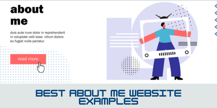 Best About Me Website Examples