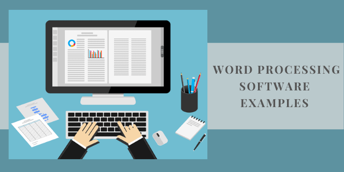 Word Processing Software Examples