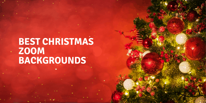 Best christmas zoom backgrounds